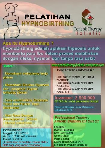 brosur hypnobirthing